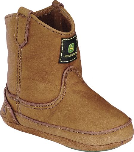 Infants John Deere Boots in Brown
