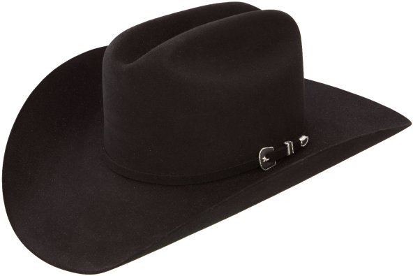 George Strait City Limits Black Felt Hat