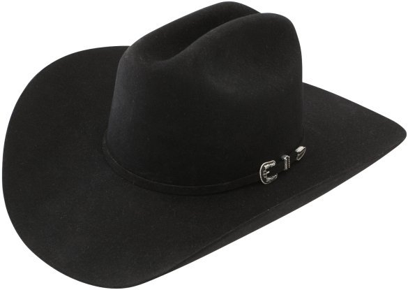 Stetson Skyline Black Felt Hat