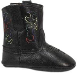 Smoky Boots Baby Black Cowboy