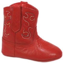 Smoky Boots Baby Red Cowboy Boots
