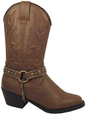 Smoky Boots Brown Bootstrap Childrens