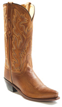 Old West Tan Mens Boot