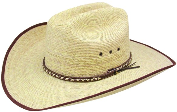 Jason Aldean Resistol Brush Hog Straw Hat
