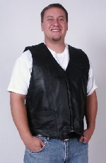 Leather Vest Mens
