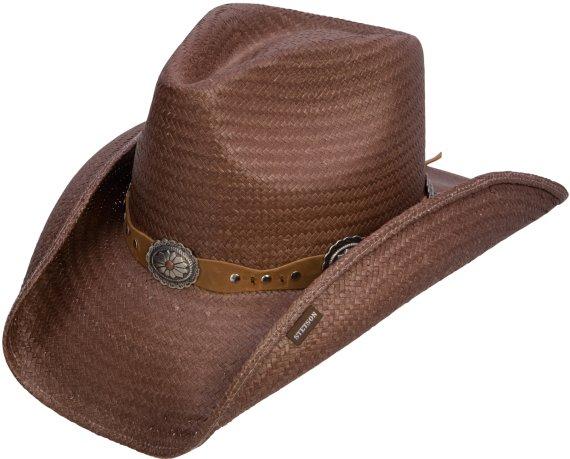 Stetson Roxbury Straw Hat Mocha