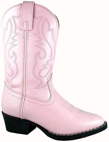 Smoky Boots Children's Denver Pink