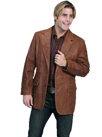 Brown Western Blazer