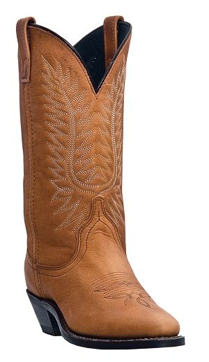Womens Deertan Laredo Boot Walnut
