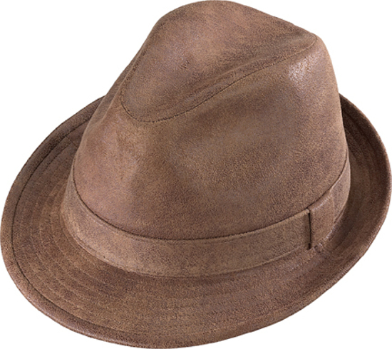 Henschel Downer Brown Crushable Hat