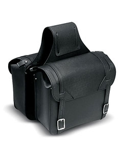 Basic Leather Motorcycle Saddlebags