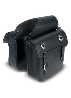 Economical Saddlebag with Concho