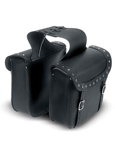 Studded Leather Saddlebag