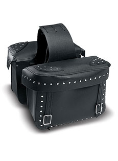 Large Studded Saddlebag