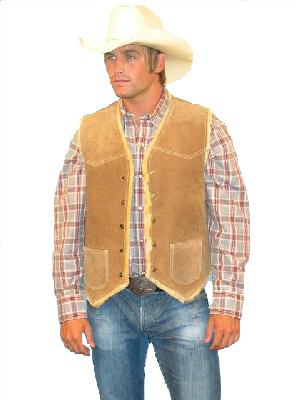 Scully Boar Suede Hunting Vest