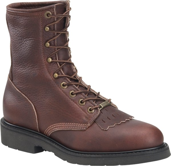 "Men's 8"" Domestic Work Lacer"