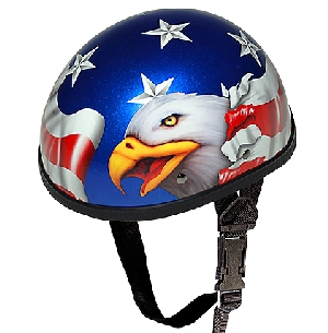 American Flag Novelty Helmet