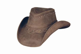 Bullhide Burnt Dust Leather Hat