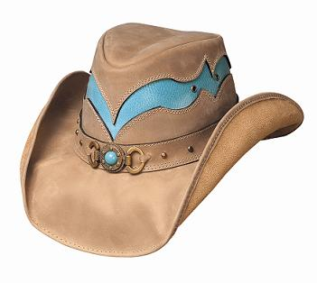Bullhide Cascade Range Leather Hat