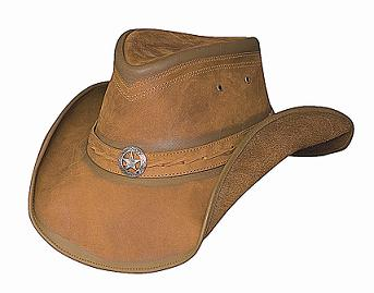 Bullhide Cooper Creek Leather Hat