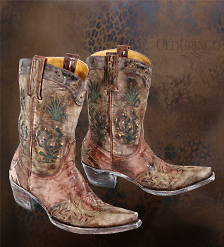 Womens Old Gringo Boot Cactus Novularis