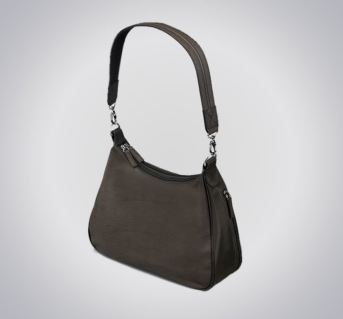 GTM/BLK-70 Concealed Carry Basic Hobo Handbag