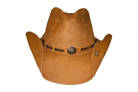 Stetson Roxberry Mocha Leather Hat