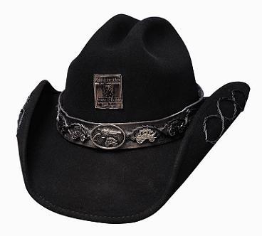 Jesse James Felt Hat