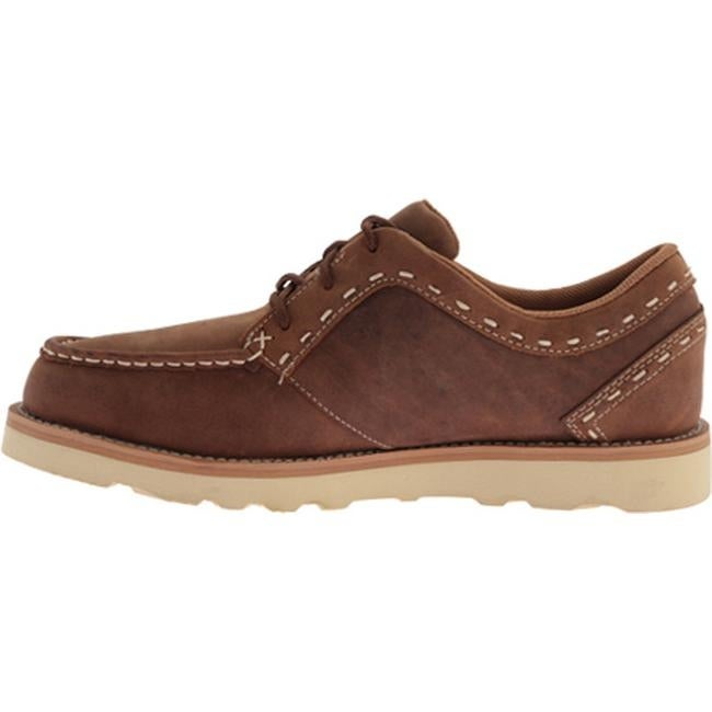 Men's Casual Lace Up Oiled Saddle Leather
