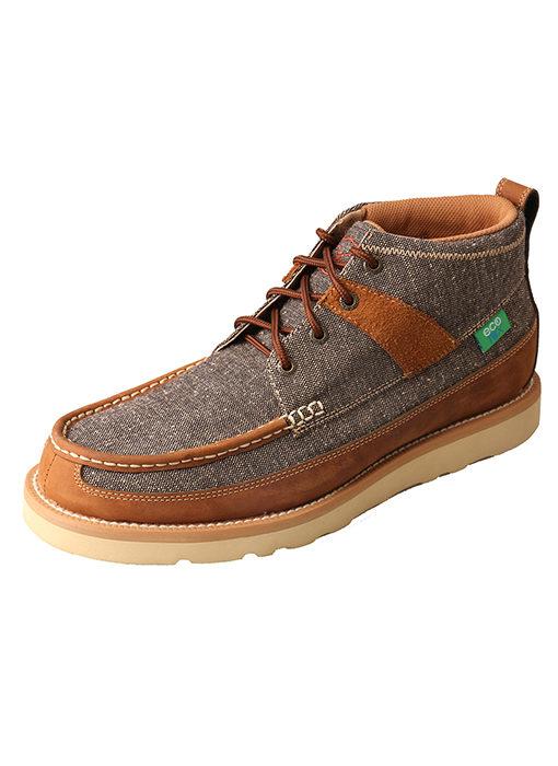 Men's ecoTWX Casual Shoe – Dust/Brown