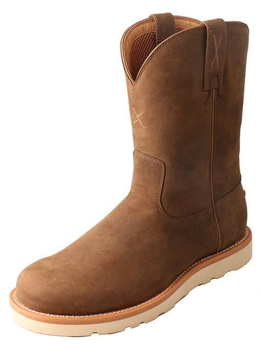 Men's Casual Boot – Distressed Saddle