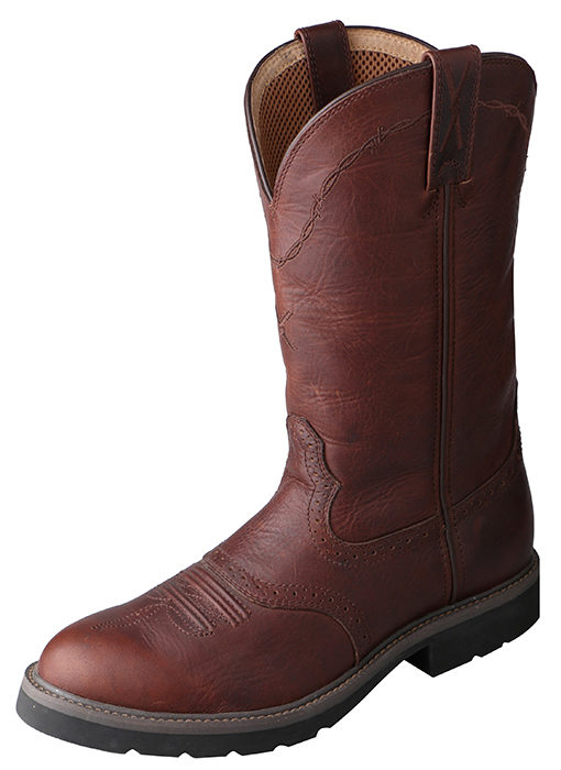 Mens Cowboy Work Twisted X Boots Brown