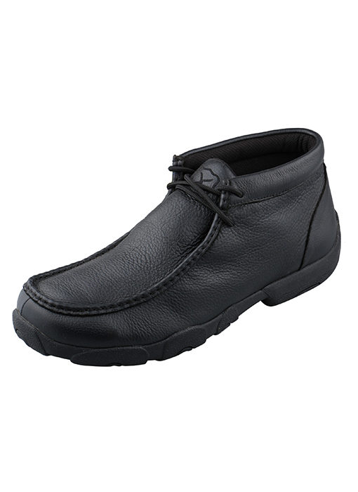 Men's Driving Moccasins – Softy Black