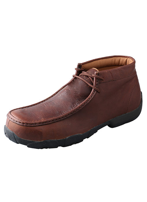 Mens Twisted X Boots Driving Moc Composite Toe Bomber