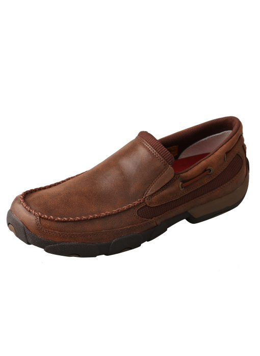 Men's Slip-on Driving Moccasins – Brown