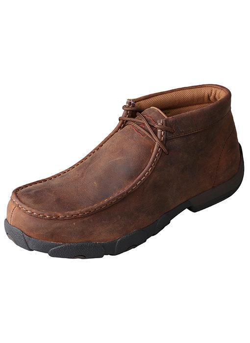Men's Driving Moccasins – Peanut – MET Guard|Steel Toe