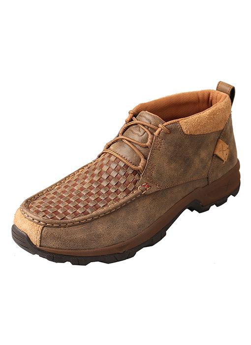 Men's Hiker Shoe – Woven Brown/Bomber