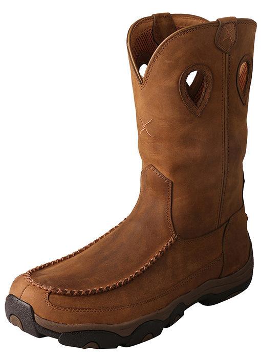 Men's Hiker Boot – Distressed Saddle