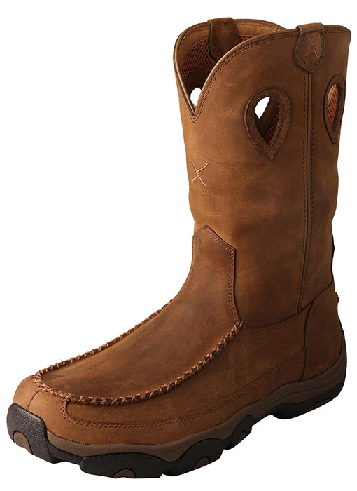 Men's Hiker Boot – Distressed Saddle/Saddle – Waterproof