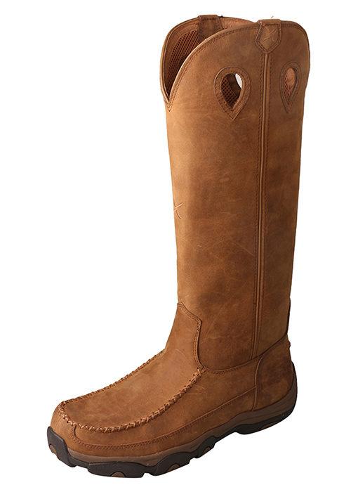 Men's Hiker Boot – Distressed Saddle – Viper Guard|Waterproof