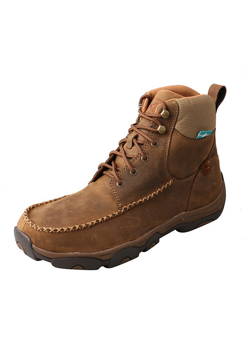 Men's Casual Work Hiker D Toe 63 – Distressed Saddle