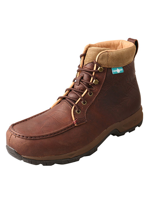 "Men's Casual Work Hiker D Toe 6"" – Dark Brown"
