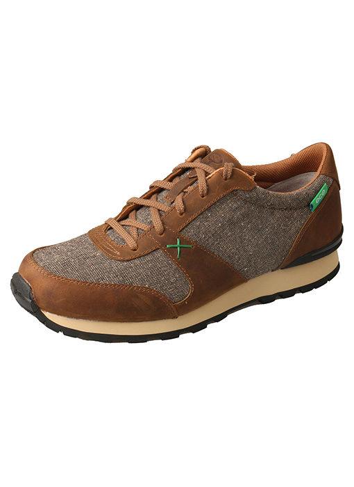 Men's Hooey Athleisure Shoe – Tan/Dust