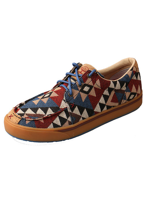Men's Hooey Lopers – Graphic Pattern Canvas