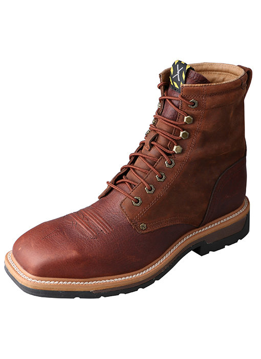 Mens Twisted X Cowboy Work Lacer (STEEL TOE/ WATERPROOF)