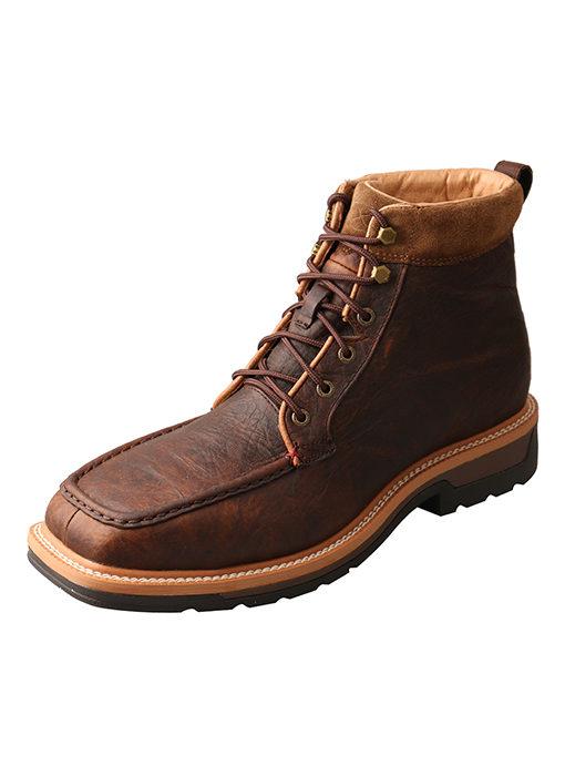Men's Lite Cowboy Workboot – Dark Brown – Waterproof