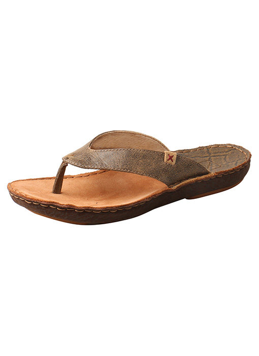 Men's Hand Stitched Leather Wrapped Sandal – Bomber