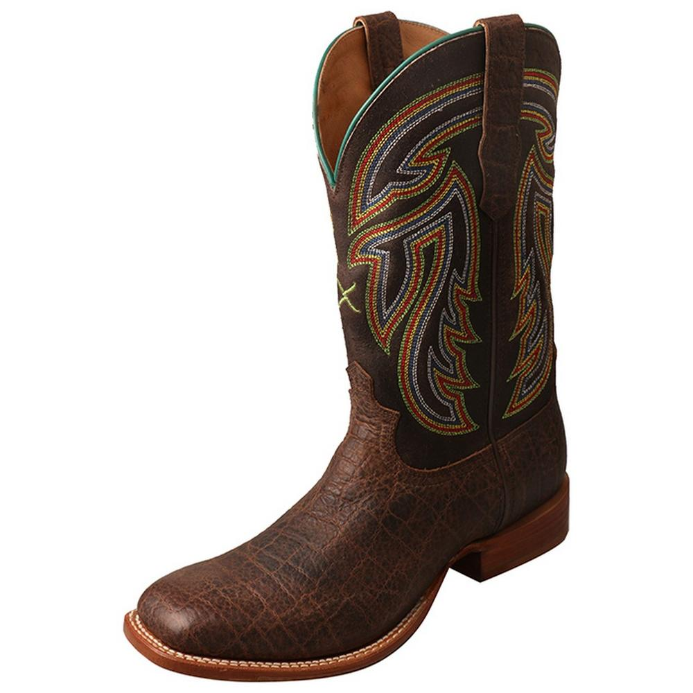 Mens Leather Rancher Chocolate