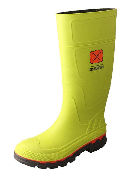 Men's Mud Boot – Green Steel Toe