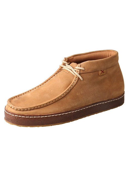 Men's Western Sneaker – Tan
